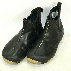 Simple Brand Leather Chelsea Ankle Boots Women 6.5